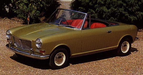 Austin gjorde flera varianter av en mindre sportbil på Minins plattform, ADO34 dök upp i ett antal skepnader 1960-64. Som en tänkbar ersättare för MG Midget/Austin-Healey Sprite modellerna.