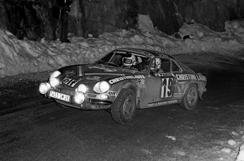 Det började 1973 i Renault Alpine A110. 23-åriga Michèle körde så bra att motståndarna försökte få det till att motorn var oreglementsenligt trimmad.