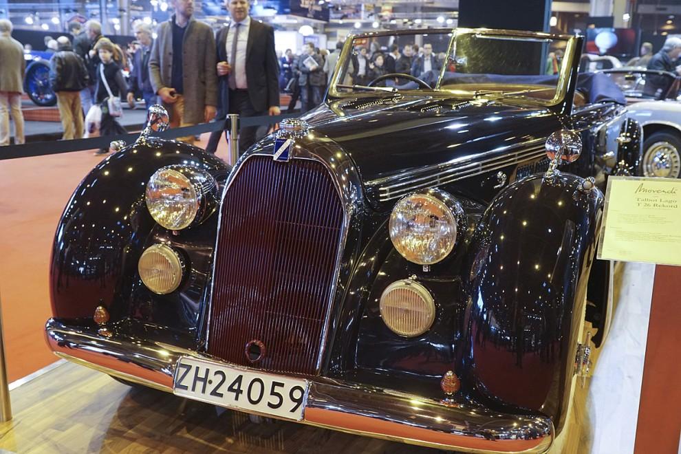 En Talbot Lago T26 Rekord cabriolet av årgång 1947 och i perfekt skick till salu för en halv miljon euro. Kung Farouks gamla T26 gick på skrotauktionen för 745 000 euro, men den hade förstås kaross av Saoutchik.
