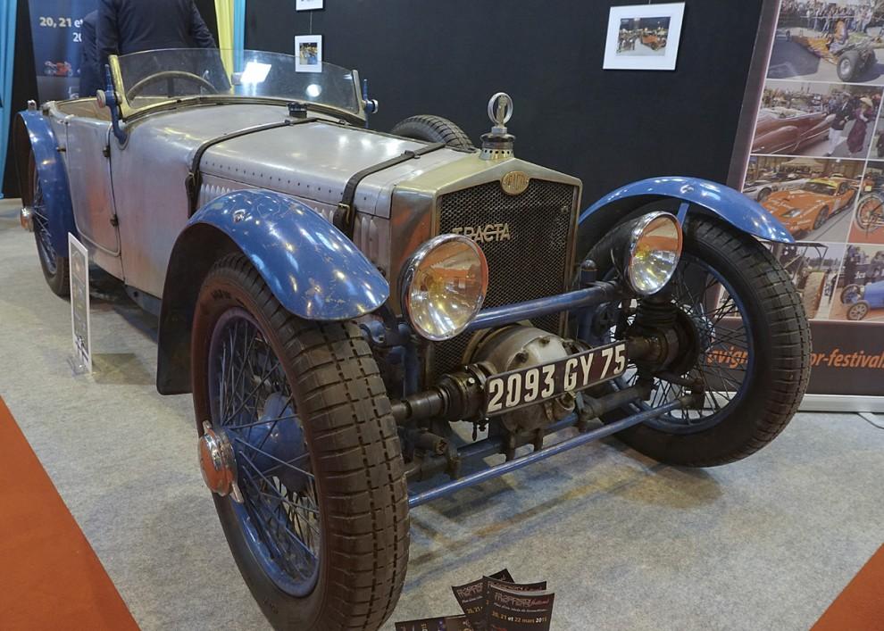 Tracta Type A av årgång 1926 i orört skick. Konstruktör var Jean Albert Gregoire. Det var världens andra i serie tillverkade bil med framhjulsdtift. Först var 1925 engelska Alvis.