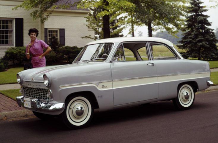 Taunus 12M 1960 i USA.