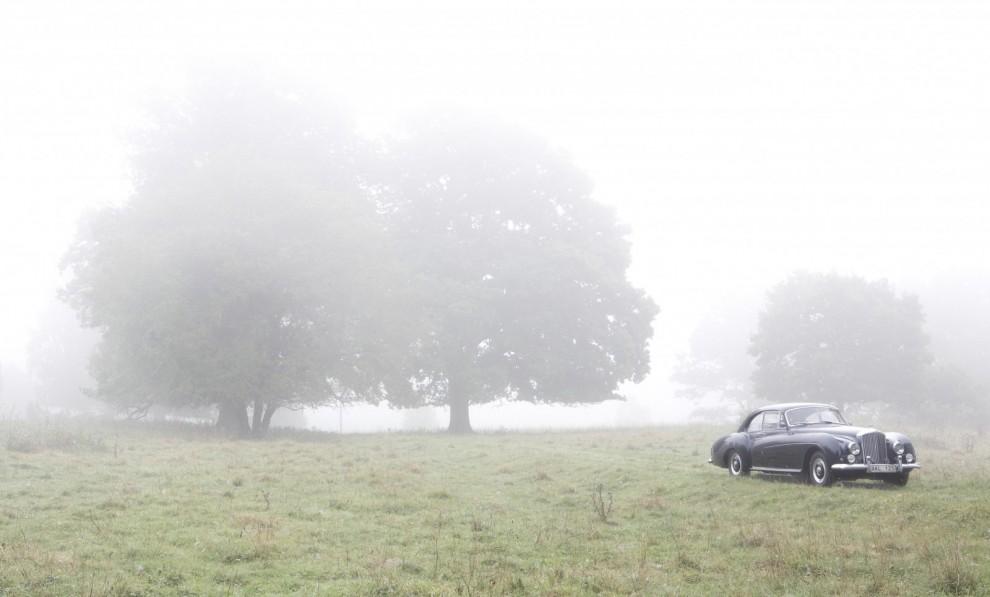 Vi tar ytterligare en av Claes Johanssons bilder på Bentleyn.