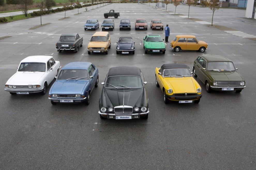 British Leyland återuppstår i nya Klassiker. Vi berättar hela den svenska historien.