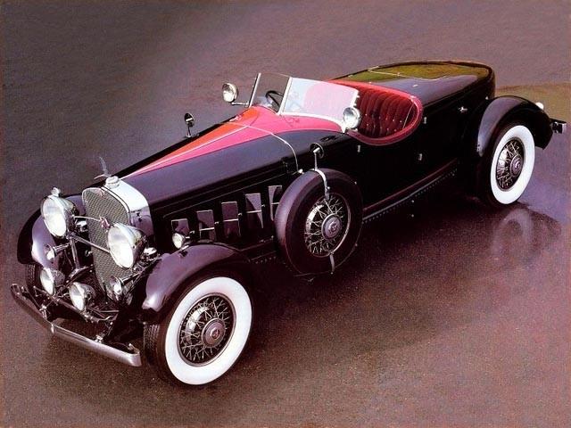 Redan 1931 klädde man ett Cadillac V16-chassi med den här vackra karosen