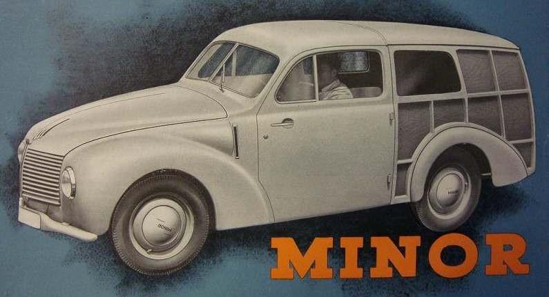 Tjeckiska Aero Minor som byggdes av Jawa efter kriget blev ingen större framgång bara runt 14000 byggdes åren 1946-51, av dom var ganska få av kombivarianten