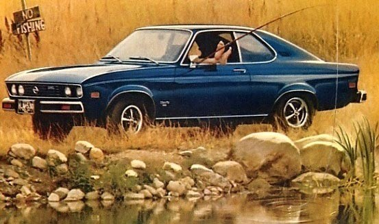 Med en liten dos civil olydnad i en amerikansk Opel Manta 1975, som ju såldes där via Buick.