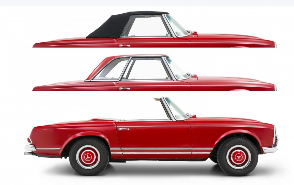Pagoda – tre bilar i en! Klassikerguide!
