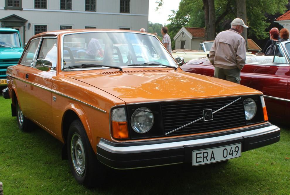 Volvon hade trillat ur registret sedan länge och återregistrerades först nu i maj.
