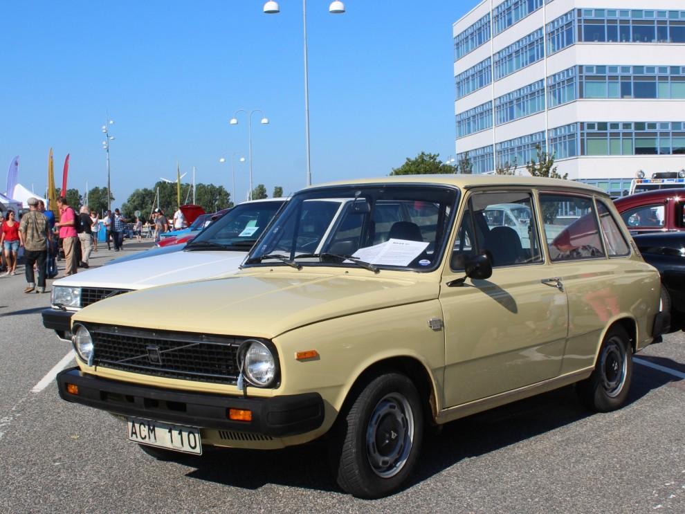 För 40 år sedan kom ju en ny Volvomodell in i programmet genom att man förvärvade Daf. 66:an fick nya emblem och kofångare och blev en Volvo för 1975.