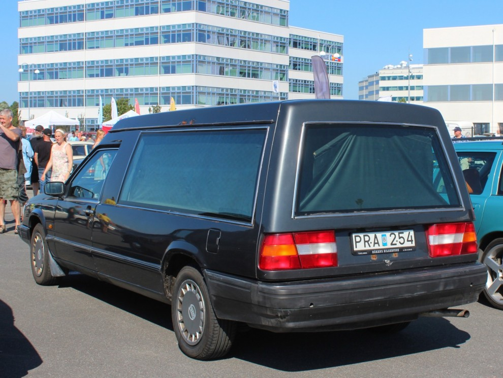 Volvo Begravningsbilar tas sällan tillvara på.