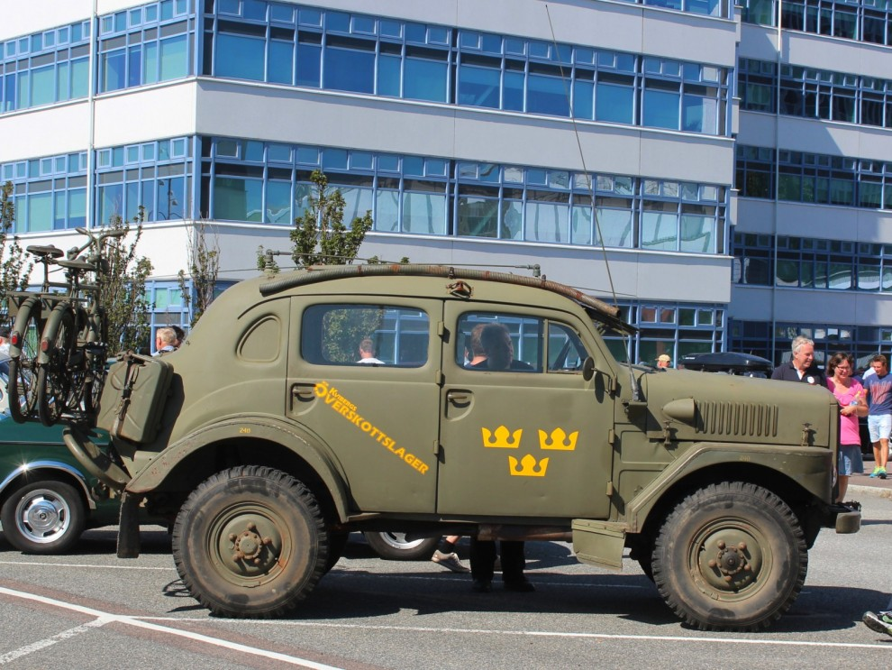 """En """"Sugga"""", eller TP21, eller RPTGB 915 som den också hette i det militära."""
