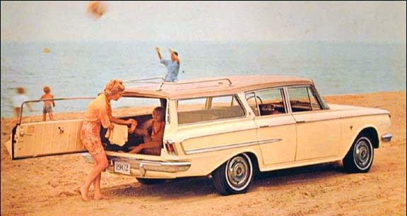 Ambassador med sidhängd baklucka från AMC 1962