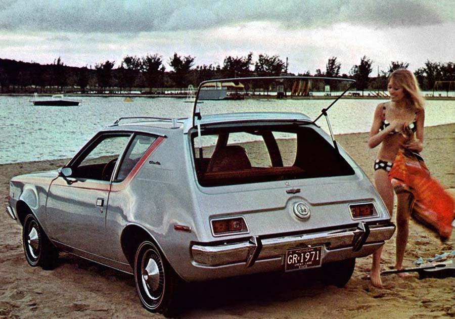 Och AMC:s lilla Gremlin 1971