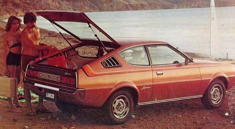 I Chryslers röriga utbud under 70-talet på fyra kontinenter och en stor portion badge engineering så hette denna Mitsubishin Chrysler Lancer LC i Australien 1977