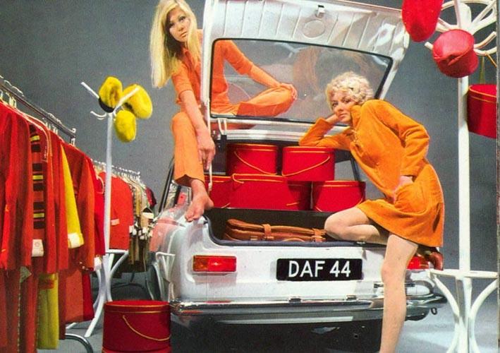 Modeskapare och modister valde Daf?