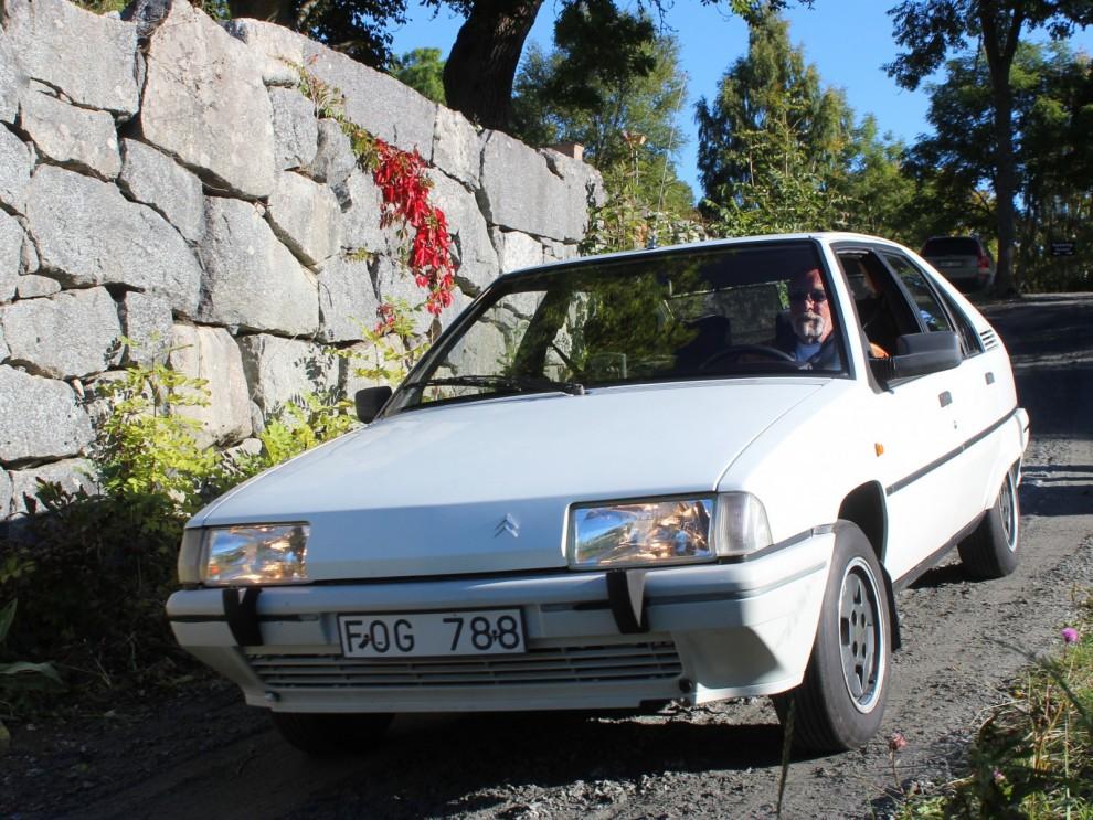 En kavalkad bokstavskombinationer, Citroën BX