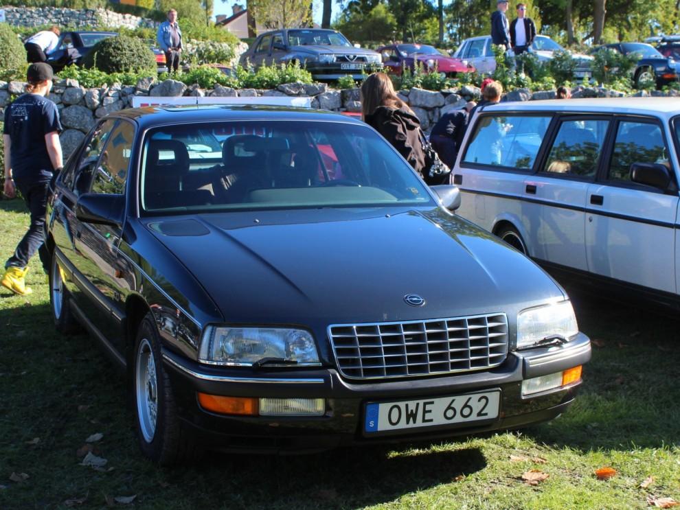 Underskattad lyxlirare från Opel, diskreta och dyra Senator.