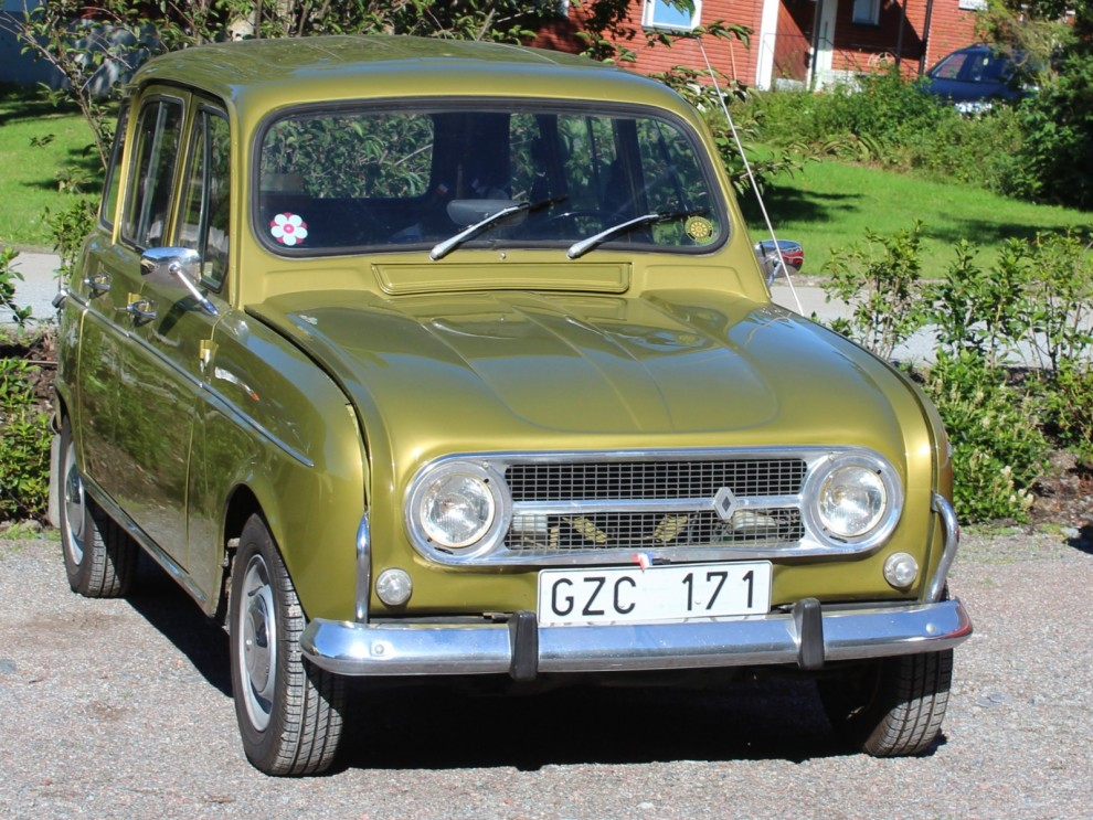 Renault 4, 1974