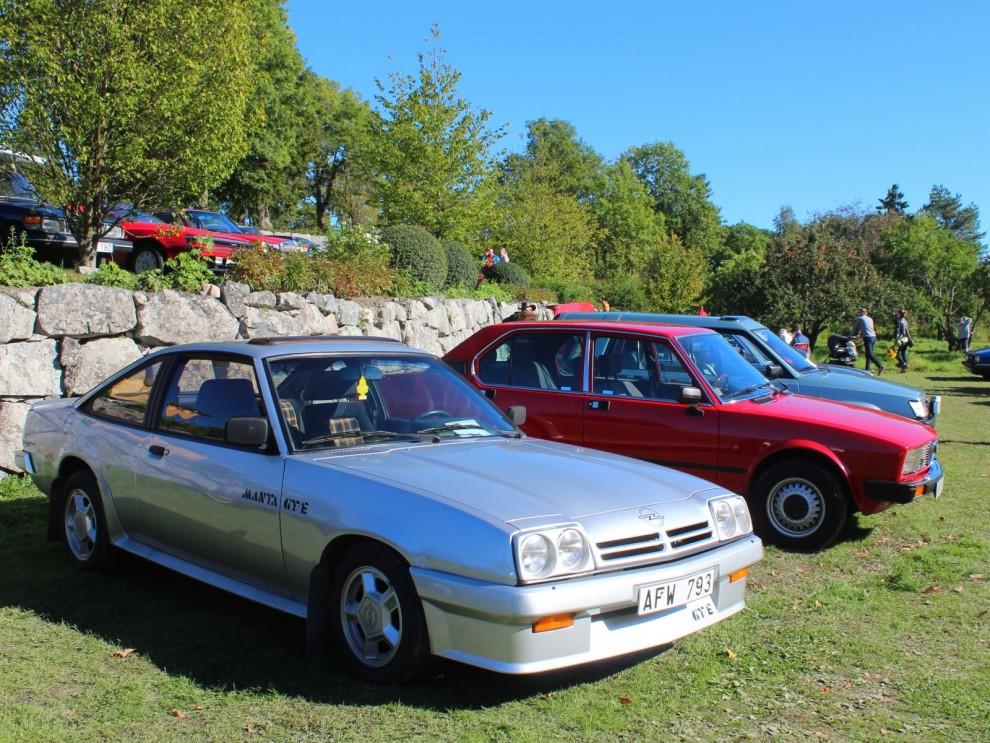 Och Manta GTE, variationerna på G-temat var många hos Opel.