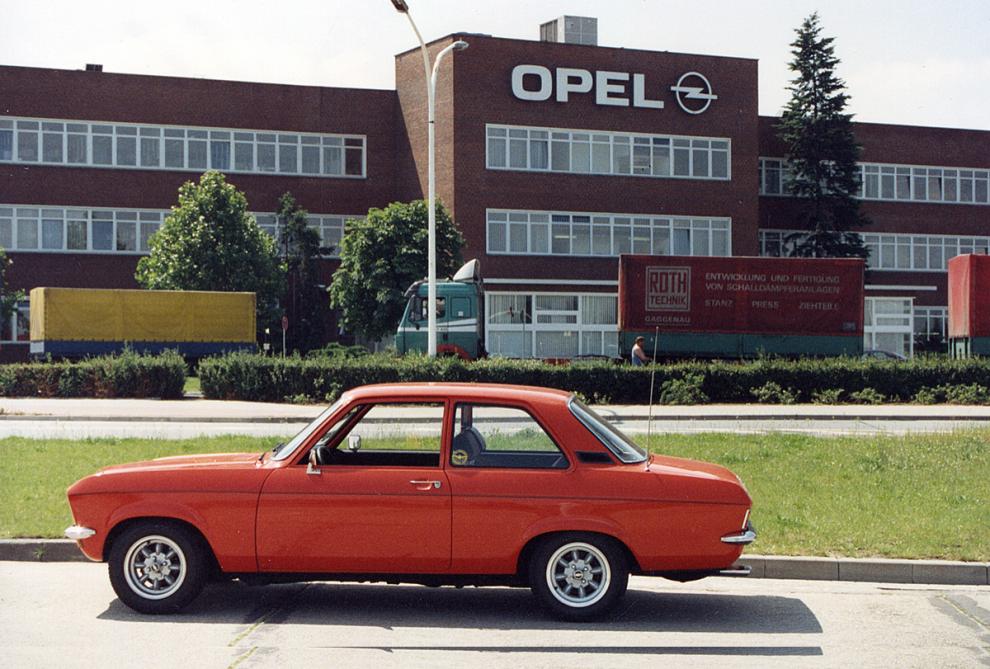 Opelfabriken i Rüsselsheim 1994
