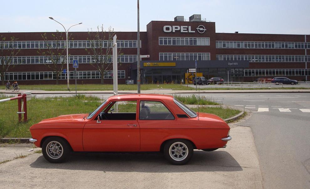 Opelfabriken i Rüsselsheim 2014