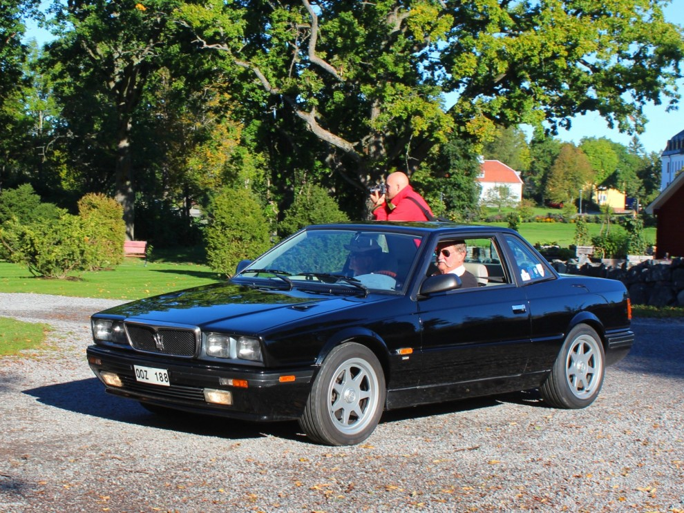 Ovanlig åttiotalare, Maserati Karif 1989