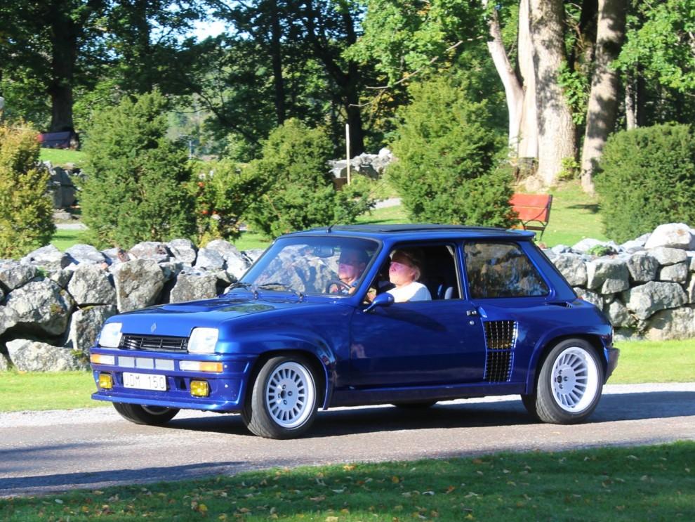 Tidernas biffigaste Renault, Turbo 5 från 1984