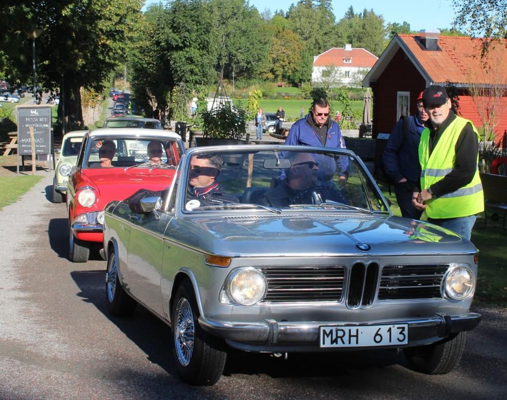Tidig BMW 1600-2 cabriolet är också en raritet idag.