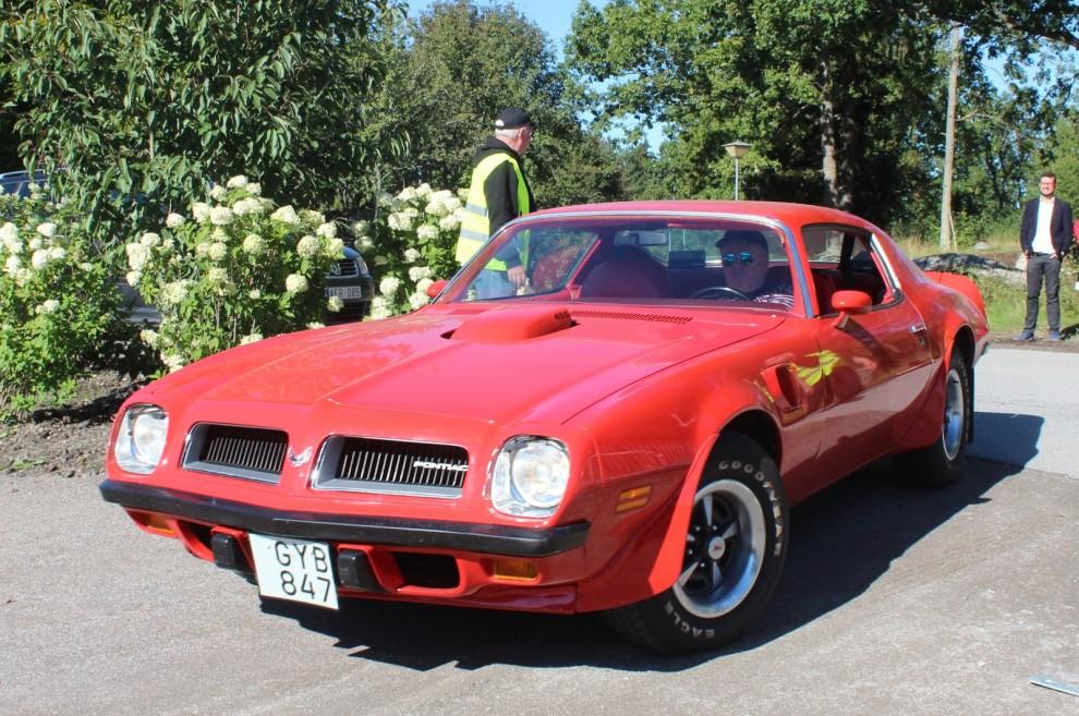Svensksåld Pontiac Firebird Trans am 455 från 1974
