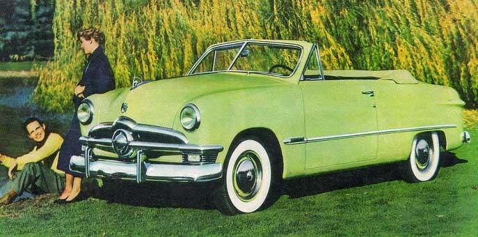 I det gröna med nya gröna Forden 1950