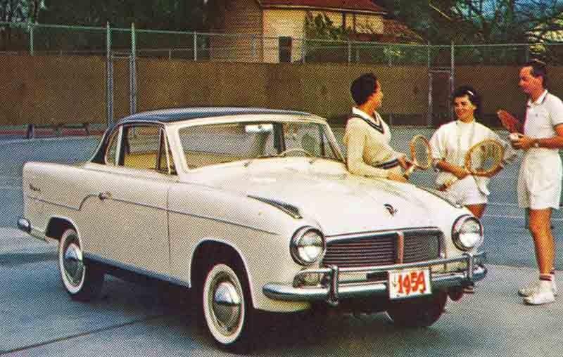 Tennistrenden i reklamen var som starkast under senare 70 och 80-talet, men förekom även före dess. Här med Goliath Tiger i USA 1959