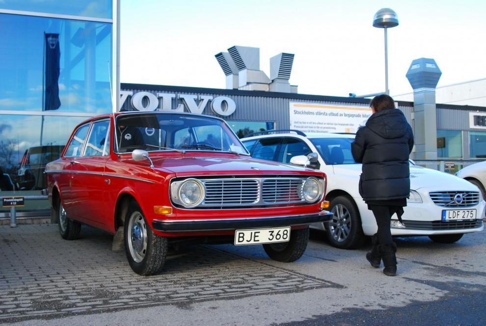 Till synes orörd Volvo 142 1968 som nyligen såldes av den förste ägaren.