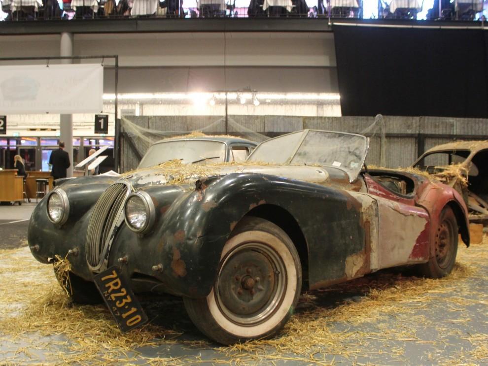 I ladugårdshörnan, Jaguar XK120
