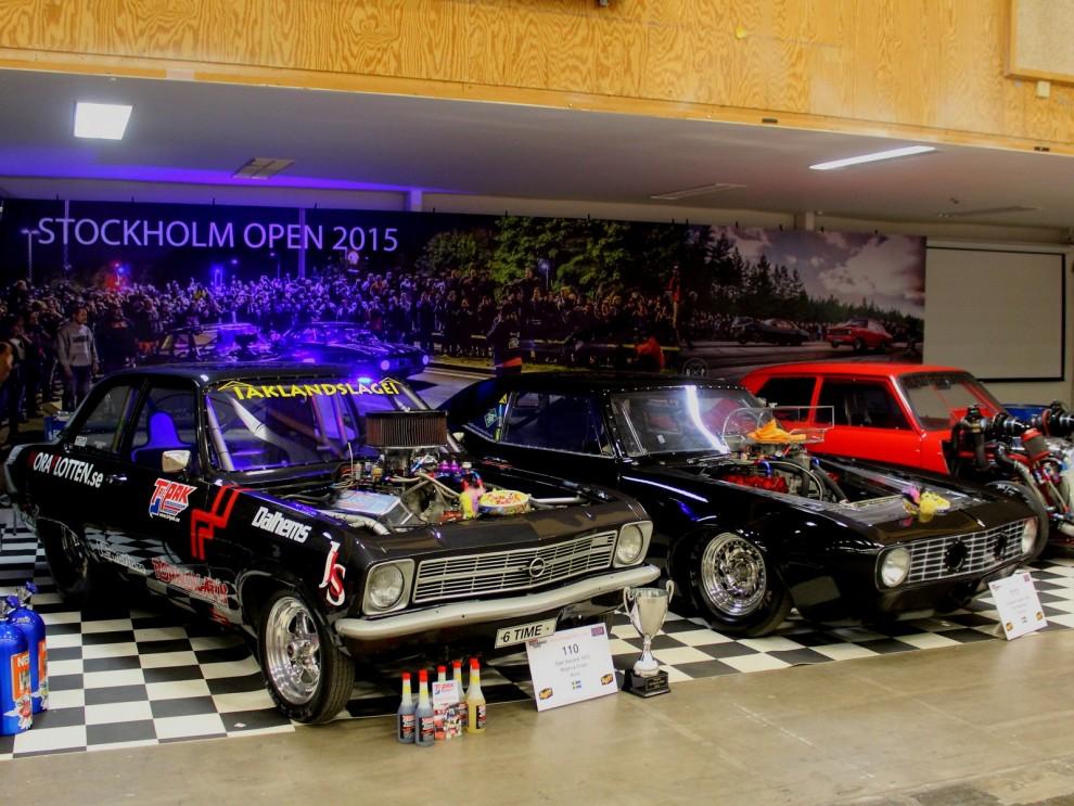Stockholm Open är en lite ljusskyggare tävlingsform, har vunnits flera gånger av en svart... Opel!