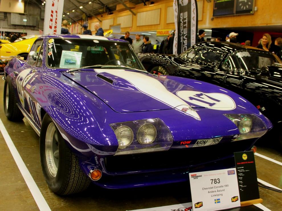 Corvette Gran Sport replika som det även tävlas med flitigt.