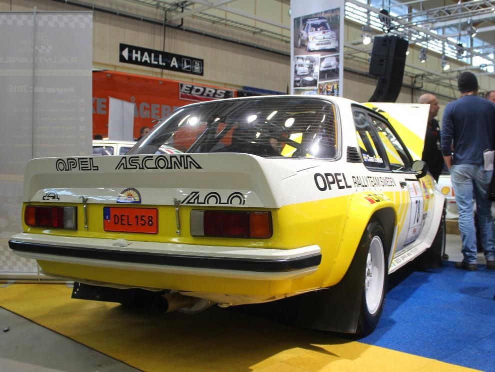 Opel Ascona 400 var en specialmodell främst för rally.