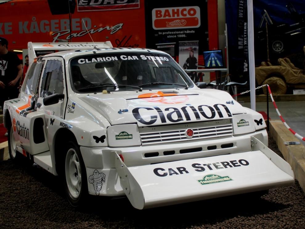 Karriären  för Metro 6R4 i Grupp B blev kort, men rallycrossåkarna tog gärna över monsterbilarna. Den här kördes framgångsrikt av Per Eklund, och bilen bor i vanliga fall på fordonsmuseet i Arvika.