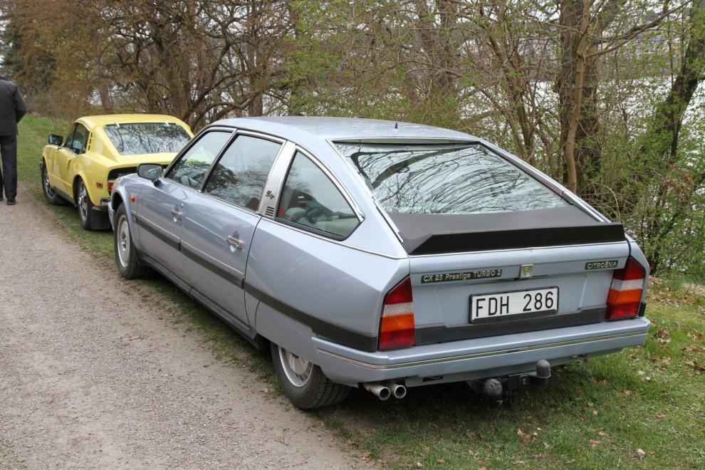 Citroën CX Prestige och Saab Sonett – skön blandning!