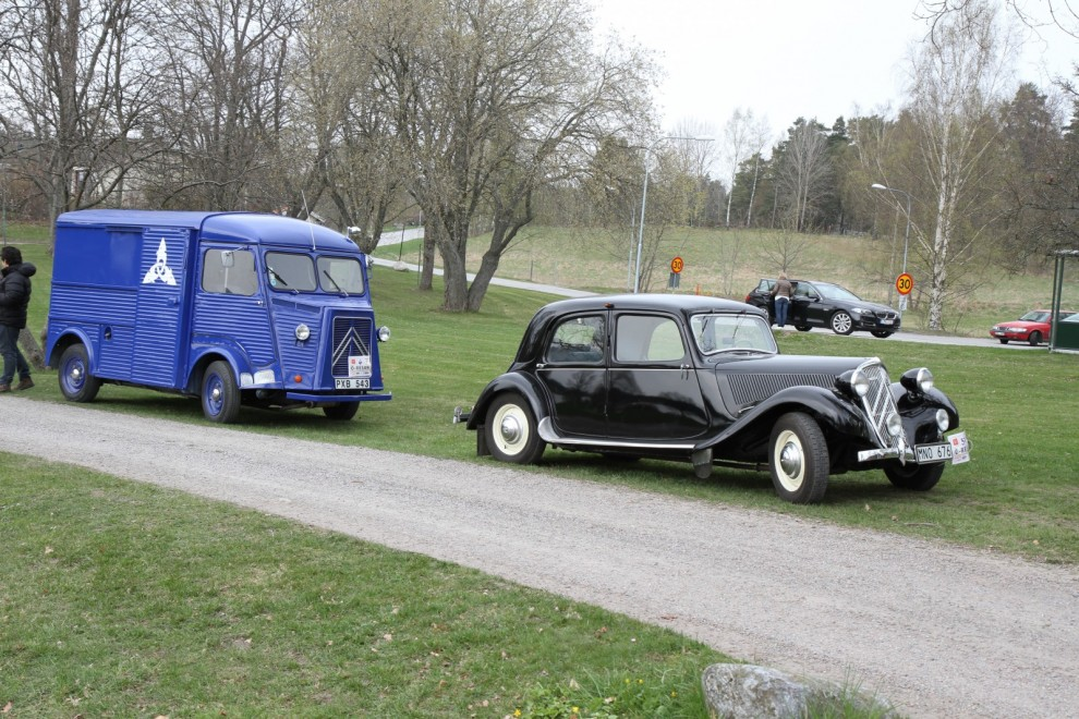 Citroën Traction Avant med eget serviceteam!