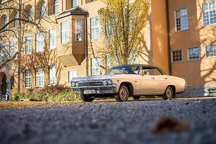 1965 var första året Caprice-namnet prövades av Chevrolet – som en lyxvariant av Impala.