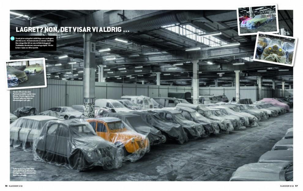 På besök i Citroëns enorma fabrikssamling – och det hemliga lagret!