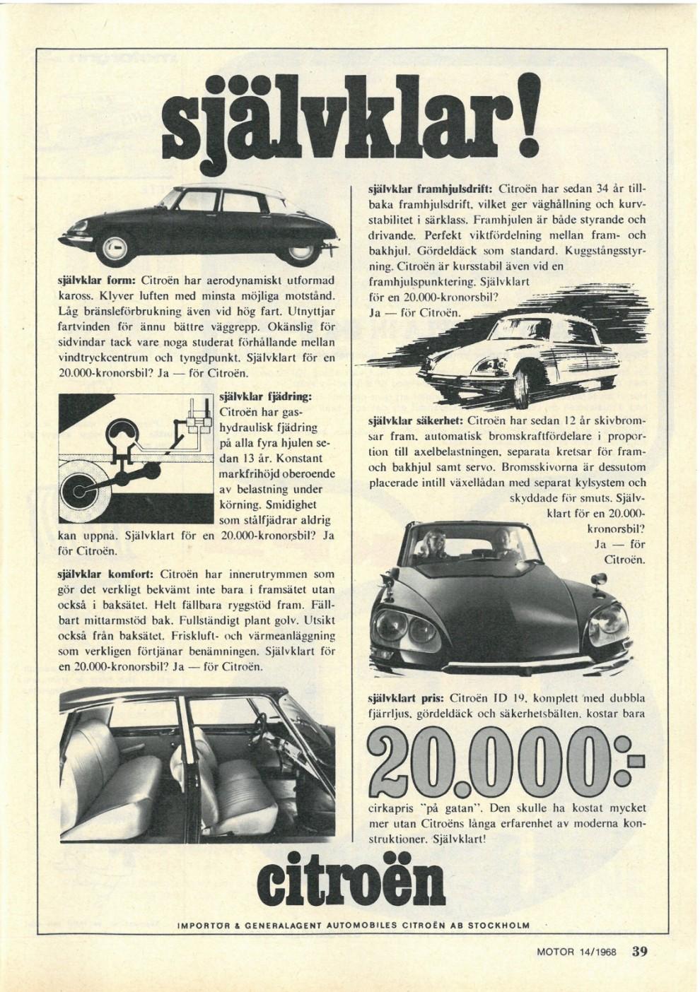 Citroën 1968