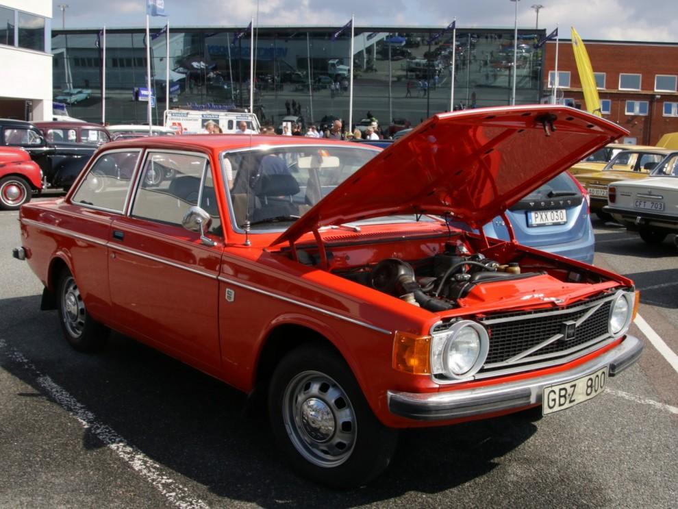 Sjuttiotalet innebar mer vågade färger, även hos Volvo