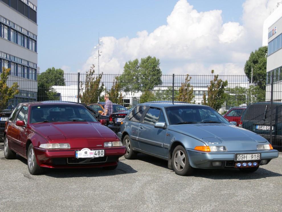 Nästa nya steg i Volvos historia kom också från Nederländerna. En tredörrars sportcoupé med framhjulsdrift som hette 480ES. I år fyller den udda Volvon 30 år, grattis!