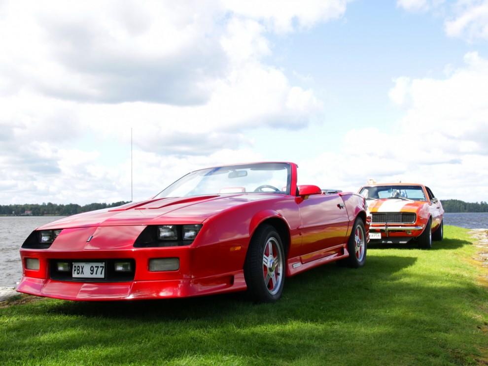 Camaro cabriolet från 1991 är ovanligare än man tror. Drygt 8000 av totalt 100000 Camaros detta år var cabrioleter.