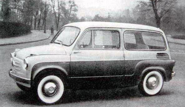 En 600 med stora glasytor från Viotti 1959