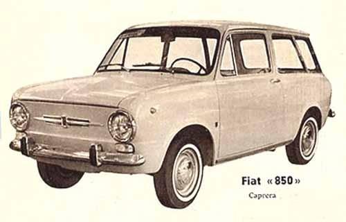 Caprera byggde en liten serie av dessa 850 kombis.
