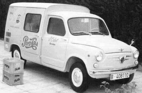 I Spanien erbjöd Seat en liten skåpbil på 600 istället.