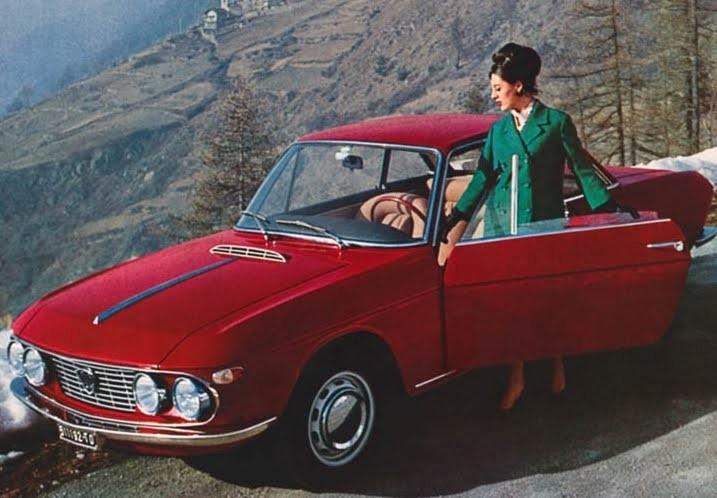 1965 kom en tuff coupé på kortare chassi.