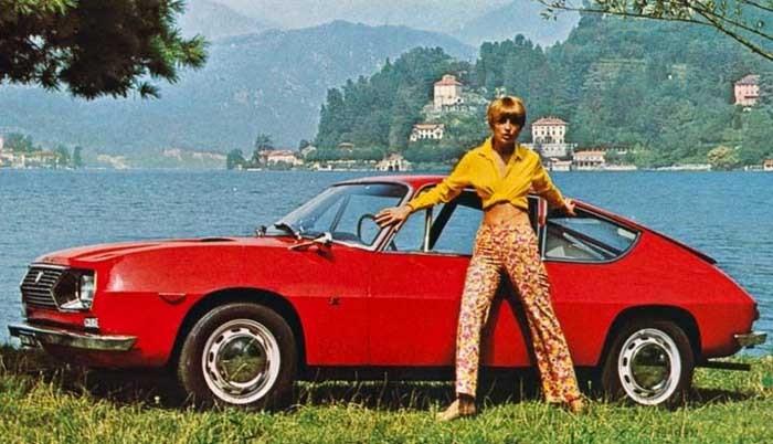 Fulvia sport Zagato byggdes i över 7000 exemplar, en bra siffra för en specialmodell.